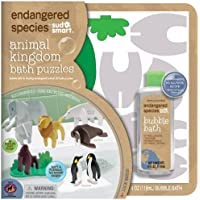 Endangered Species by Sud Smart Animal Kingdom Bath Puzzles by Health Science Labs [並行輸入品]