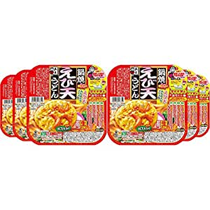 五木 鍋焼えび天うどん 220g×6個