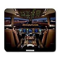 Boeing 777 Airplane Cockpit Mouse Mat Pad Mousepad
