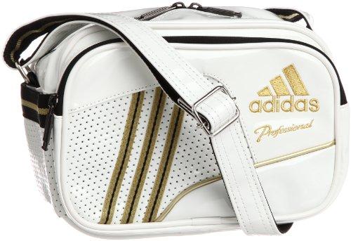 [アディダス] adidas adidas ProfessionalエナメルショルダーS DO298 Z53782 (ホワイト/メタリックゴールド)
