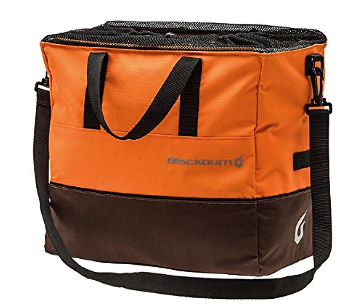 合成担保よく話されるBlackburn(ブラックバーン) LOCAL GROCERY BAG PANNIER ローカルグロッサリーパニア- オレンジ/ブラウン 7058760