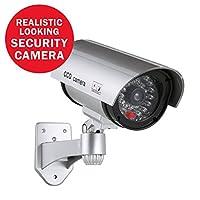 Annke Bulletダミーフェイク監視CCTV Bulletカメラインドア/アウトドアwith LEDライト