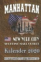 New York City-Kalender 2020: Manhattan Terminkalender-Jahresplaner-A5 Format