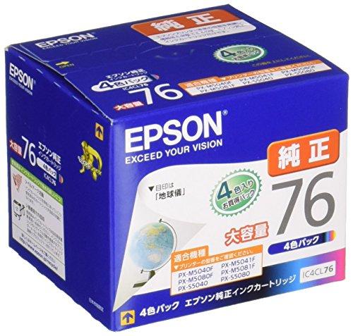 EPSON 純正インクカートリッジ IC4CL76 大容量(...