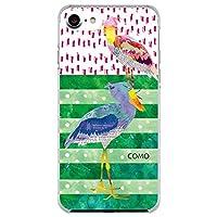 COMO iPhone5S com020 デザイン スマホ ケース カバー ハシビロコウ UV印刷