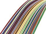 720枚 クイリングペーパー 幅3mm 5mm 7mm 10mm 長さ54cm 36色 手作り用 ペーパークイリング 手芸 DIY クラフト 造花 ハンドメイド ホビー