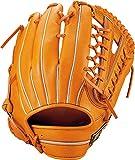 ZETT(ゼット) 軟式野球 ネオステイタス グラブ (グローブ) 新軟式ボール対応 外野手用 オレンジ(5600) 右投げ用 BRGB31917