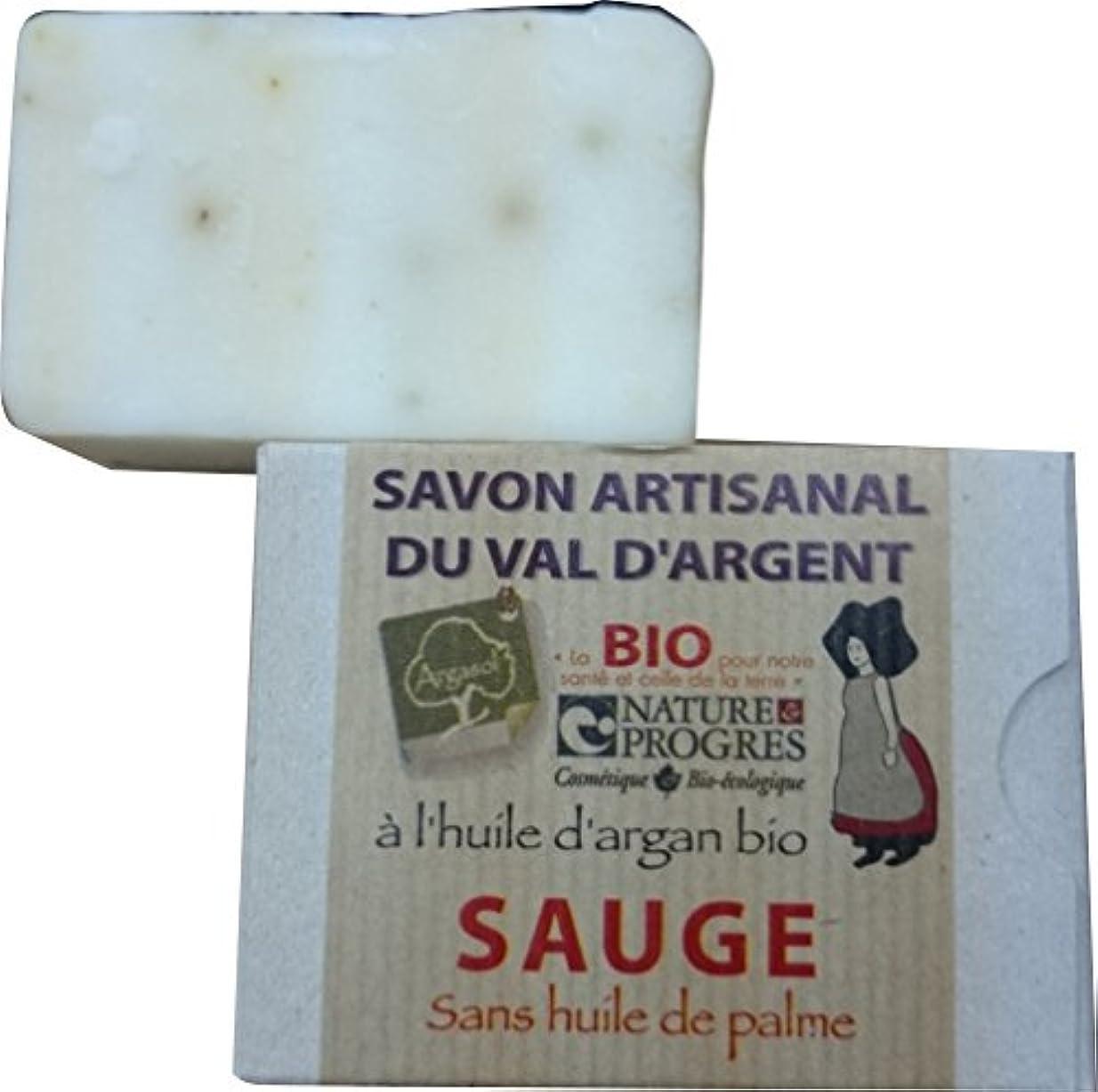 くしゃくしゃやめるペルメルサボン アルガソル(SAVON ARGASOL) セージ