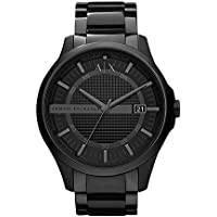 Armani Exchange Men's Quartz Watch analog Display and Stainless Steel Strap, AX2104