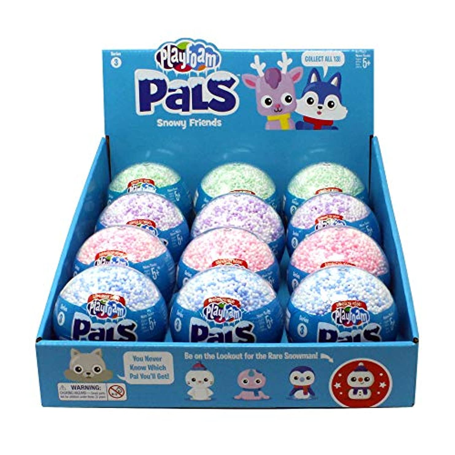 Learning Resources Playfoam Pals Snowy Friends 12-Pack
