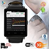 Best inDigi Phablets - Indigi NEW 2017 3G Android 5.1 Smart Watch Review