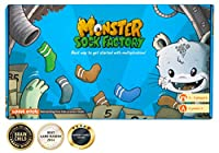 [ロジックルーツ]LogicRoots MONSTER SOCK FACTORY First step to multiplication STEM toy Math manipulative and game Gift [並行輸入品]