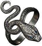 ダークソウル × TORCHTORCH リングコレクション 貪欲な銀の蛇の指輪 メンズS/17号
