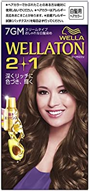 wellaton2+1染發劑 染發膏
