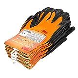 3M コンフォートグリップグローブ オレンジ Mサイズ 5双パック GLOVE-ORA-M-5P