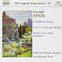 The English Song Series 12: Finzi (2005-05-17)