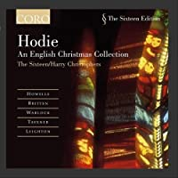 Hodie - An English Christmas Collection by The Sixteen/Harry Christophers (2003-01-01)