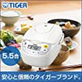 タイガー 炊飯器 マイコン式 調理メニュー付き 炊きたて 1升 JBH-G181-W