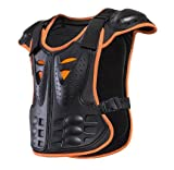 HEROBIKER Outdoor Sports Children Armor Vest Suitable for 4-12 Ages Kids Protective Gear Body Armor Moto Chest Protector Guards