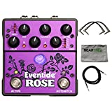 Eventide Rose Modulated Digital Delay Pedal w/Polish Cloth and 3 Cables
