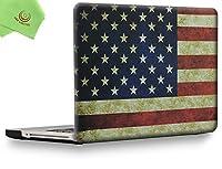 """UESWILLソフトタッチマットハードシェルケースカバー MacBook Pro 13インチ 15インチ 20082009201020112012 CD-ROM DVDドライブ付き 非Retina A1278 A1286 MacBook Pro 13"""" (CD-ROM Drive) UES03F13P1-25"""