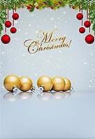 lfeeyクリスマスの背景幕の写真垂直スタイル木製床縦写真背景for Kidsファミリ