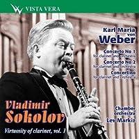 Weber: Clarinet Concertos 1/2