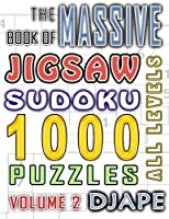 The Massive Book of Jigsaw Sudoku: 1000 Puzzles