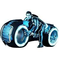 ムービー?マスターピース トロン:レガシー 1/6スケール ライトアップ機能付きビークル ライト?サイクル&サム?フリン