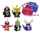 すくい人形 仮面ライダーゴースト 5種類セット/ お片づけバッグ付きセット [おもちゃ&ホビー]