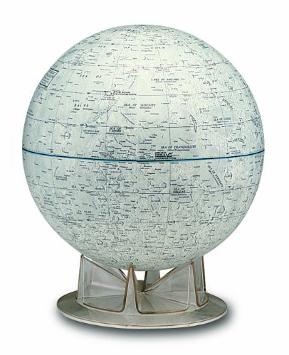 月球儀 NASA MOON英文 38245