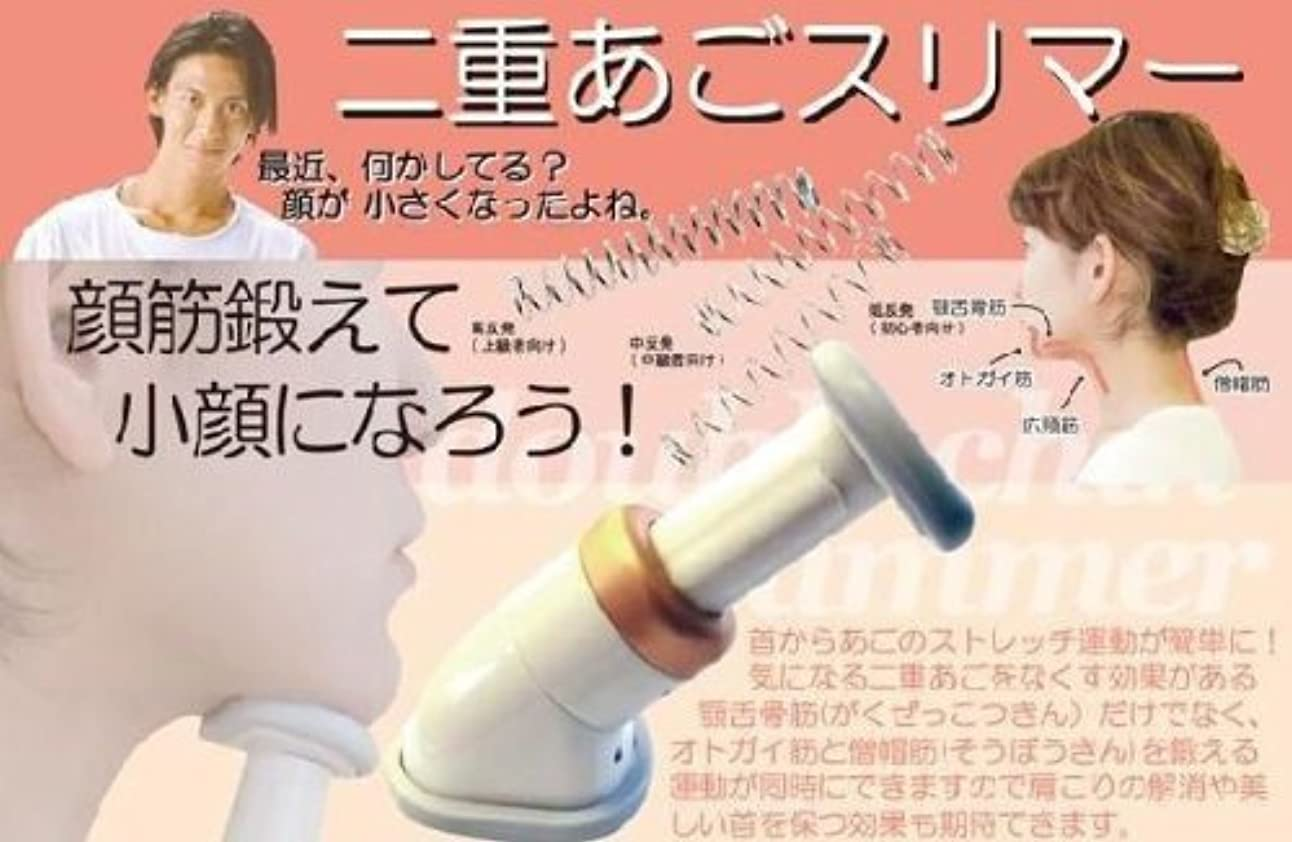 人類翻訳者合唱団二重あごスリマー☆あごのたるみをスッキリ!