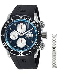 [エドックス]EDOX 腕時計 クロノオフショア1 自動巻きクロノグラフ 01122-3-BUIN2 メンズ 【正規輸入品】