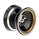 GoolRC マジックヨーヨー Magic Yoyo M001 アルミニウム合金 ヨーヨー スピニング ストリング付 おもちゃ ホビー