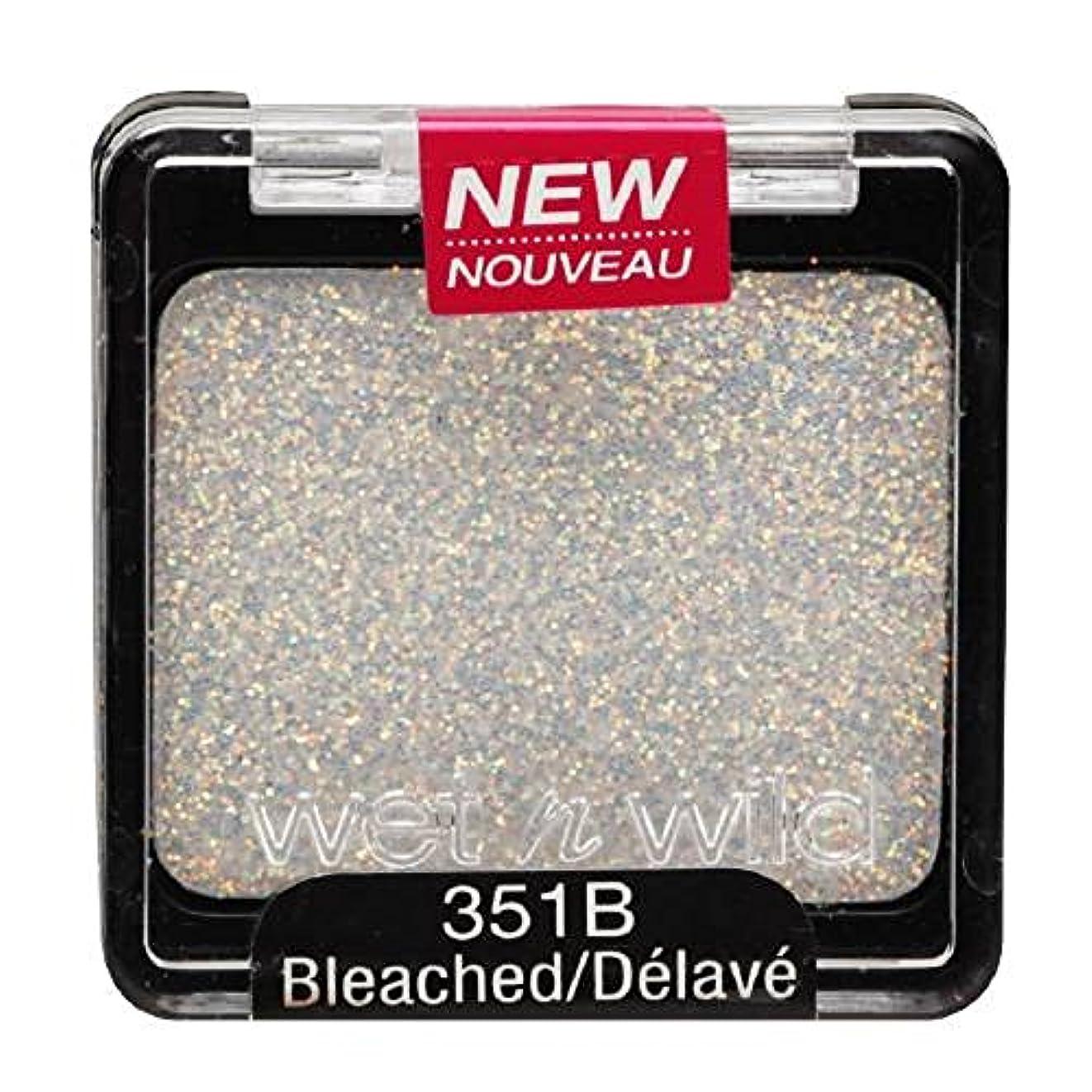 メンテナンス撃退する関係WET N WILD Color Icon Glitter Single - Bleached