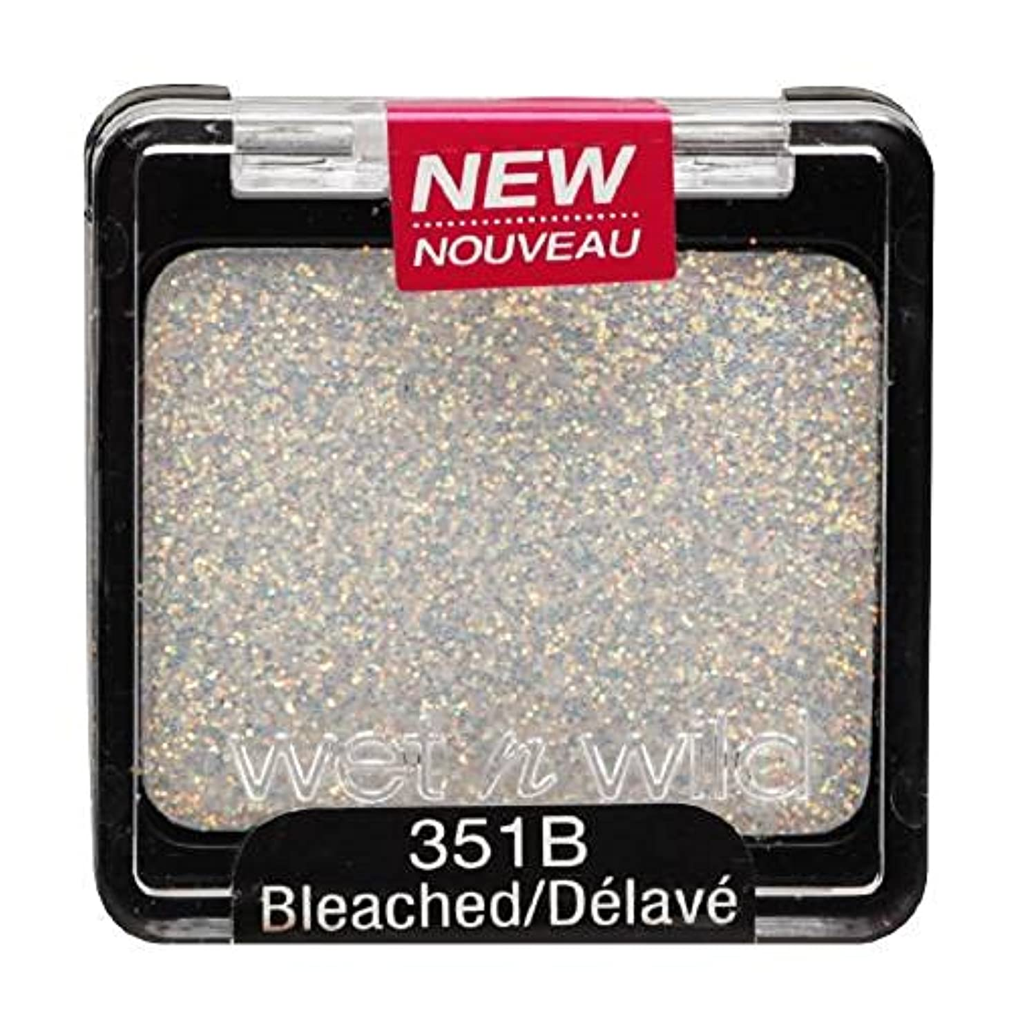 きょうだい脚磨かれたWET N WILD Color Icon Glitter Single - Bleached