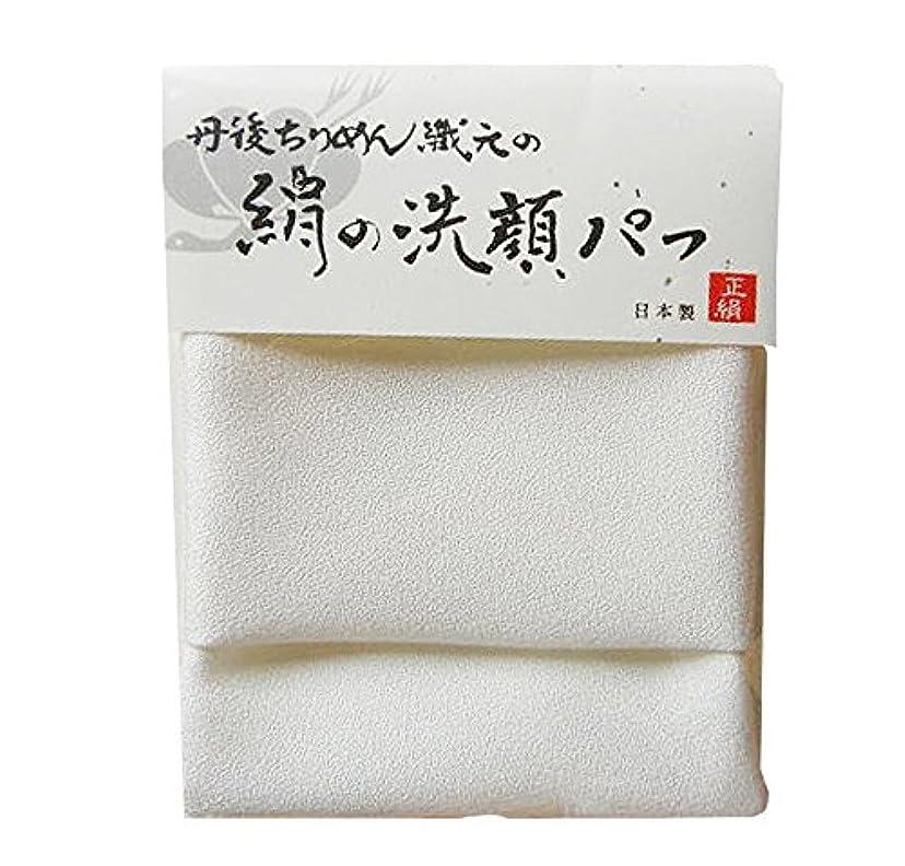 遷移引き受けるあたたかい【NHKイッピンで紹介!】丹後ちりめん織元の絹の洗顔パフ