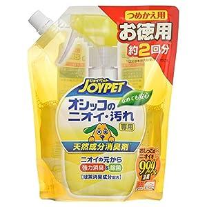 ジョイペット 天然消臭剤オシッコのニオイ・汚れ専用詰替ジャンボパック450ml