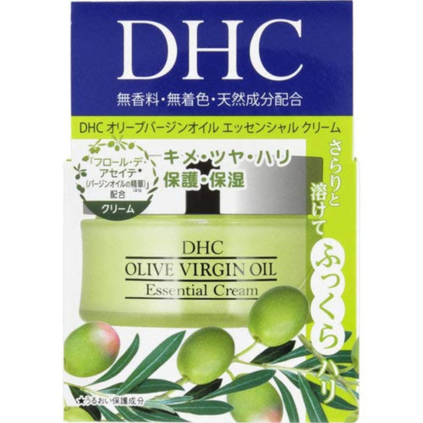 感染する紫の億DHC オリーブバージンオイル エッセンシャル クリーム SS 32g