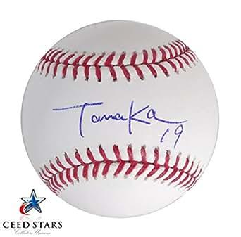 田中将大 直筆サイン入り MLB公式ボール 米国トップクラス 筆跡鑑定会社 JSA社シリアルナンバー証明書付き シードスターズ