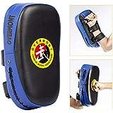 Overmont PU Leather Muay Thai MMA Martial Art Boxing Karate Taekwondo Kick Target Punching Bag Pad Shield Training