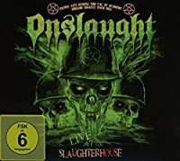 Live At The Slaughterhouse (Cd+Dvd) by Onslaught