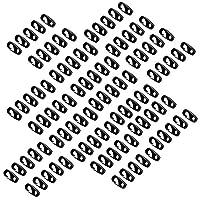 カヤックパドルロッドリーシュ用100ピース7 Mm弾性ショックコードバンジーロープフック