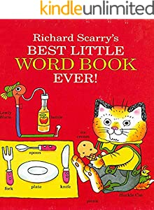 Richard Scarry's Best World Book Ever: Recommended puzzle picture book (English Edition)