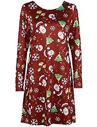 c0c5d0af2f3de ドレス レディース Kohore セクシー クリスマス ワンピース レディース 長袖 ドレス ワンピース 欧米人気 Christmas One  Piece 可愛い
