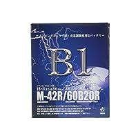 【廃バッテリー無料回収票付き】 B1 バッテリー M-42R 12/11~14/05 N ONE DBA-JG1