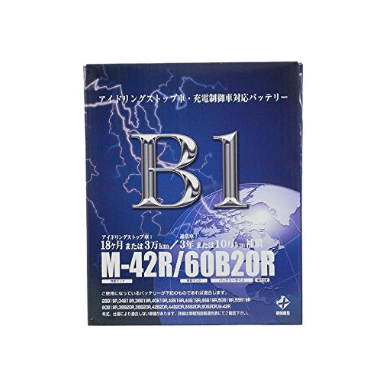 課税まとめる鋼【廃バッテリー無料回収票付き】 B1 バッテリー M-42R 14/12~ N BOXSLASH DBA-JF1