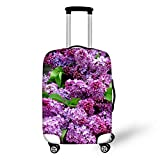 Bigcardesigns スーツケースカバー 伸縮素材 欧米風 エッフェル塔 S/M/Lサイズ
