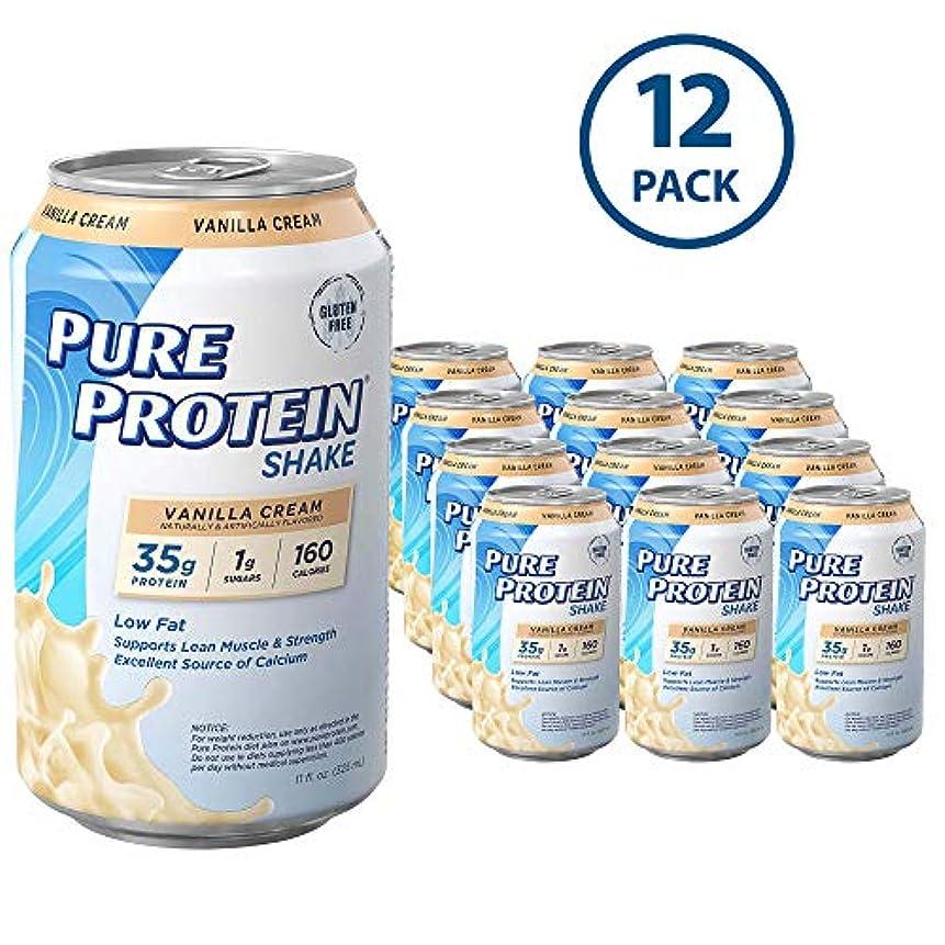 ボット証明する口径WWSN: Pure Protein Shake Vanilla 12 ct 11 oz by World Wide Sports Nutrition