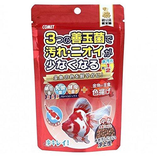 (まとめ買い)イトスイ 金魚の主食 納豆菌 色揚げ 中粒 【×10】